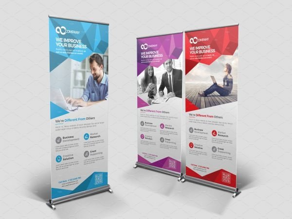 Retractable Banner Template Psd Beautiful 20 Roll Up Banner Templates Psd Ai