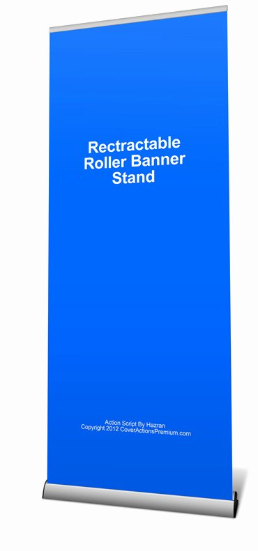 Retractable Banner Template Psd Beautiful Retractable Roller Banner Mockup