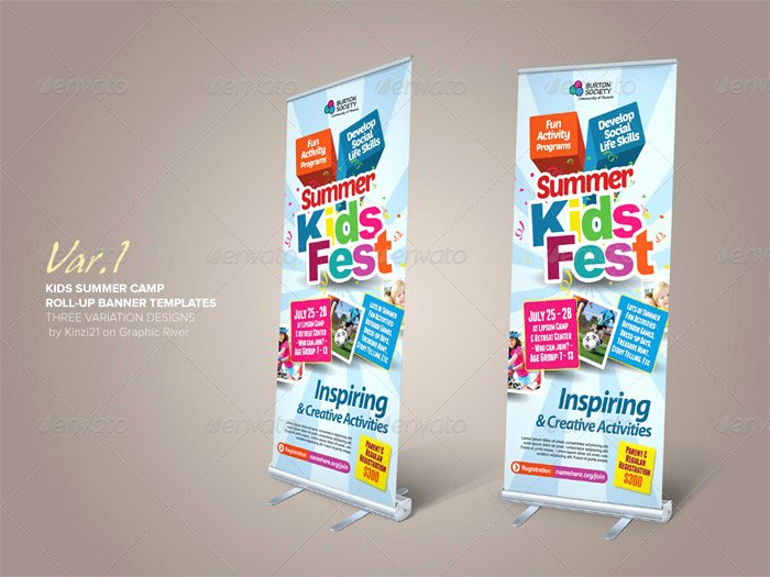 Retractable Banner Template Psd Elegant Standing Banner Template Shop Awesome Retractable