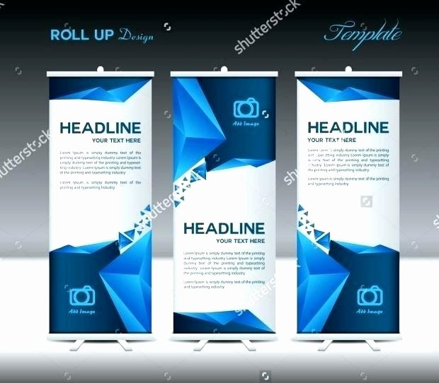 Retractable Banner Template Psd Elegant Technology Banner Template – Ilaps