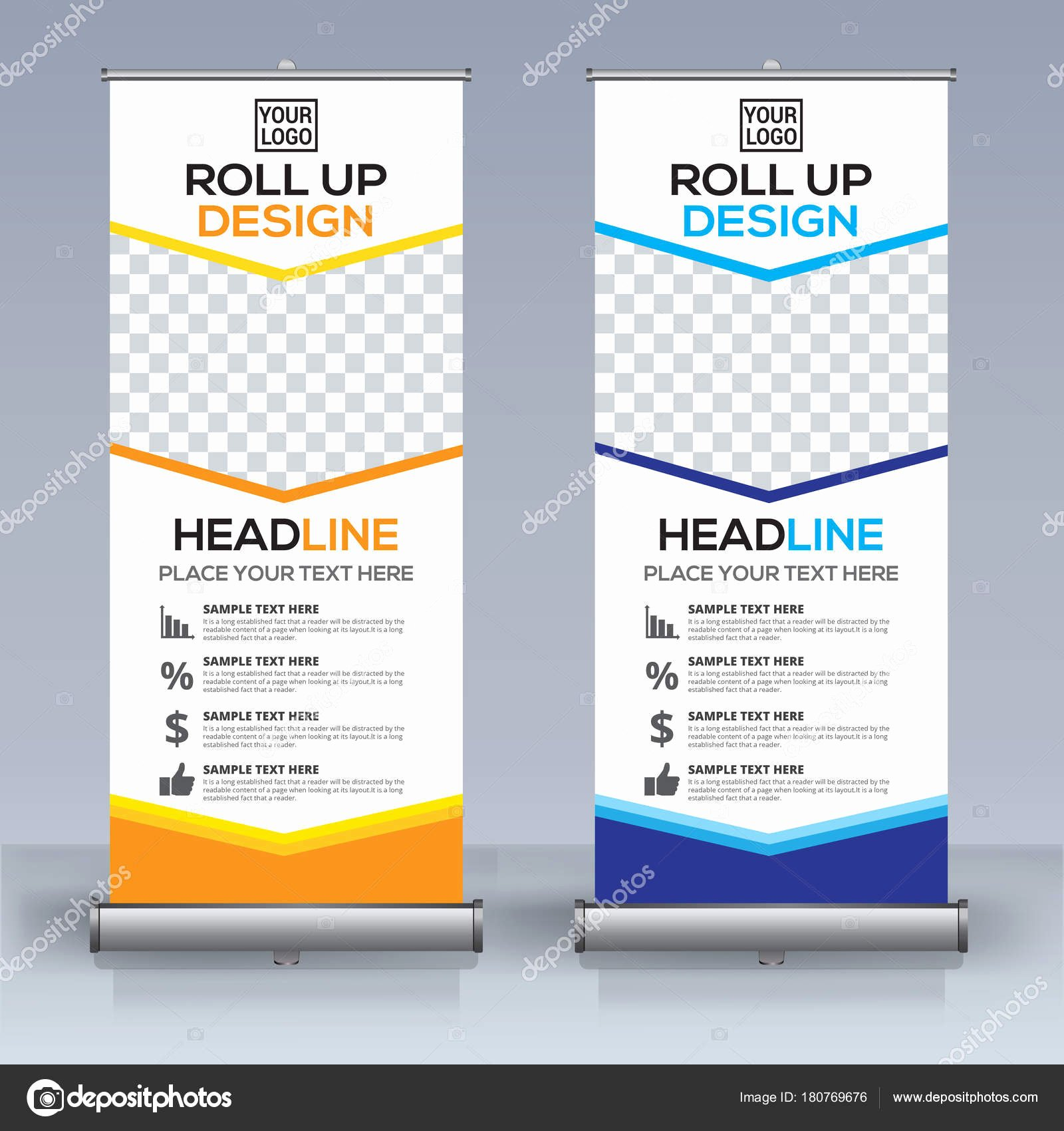 Retractable Banner Template Psd Fresh Enrole Modelo Design Bandeira Vertical Abstrato Puxe