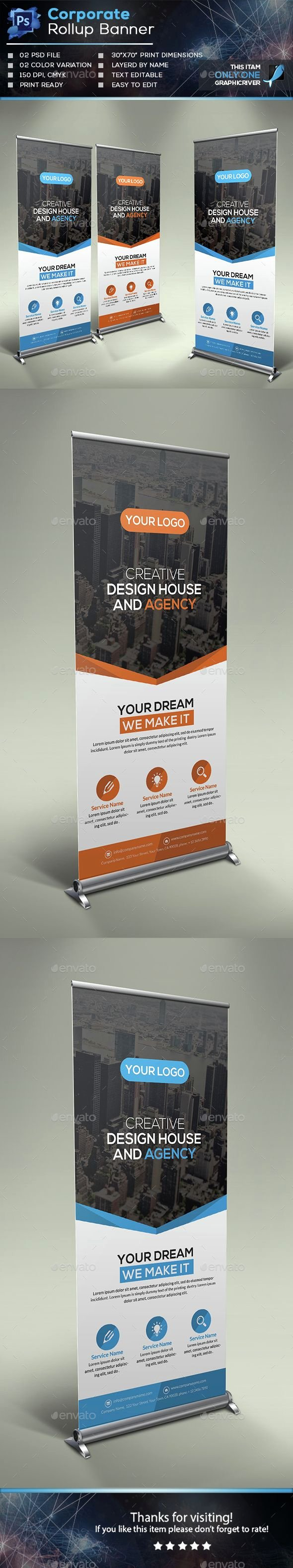 Retractable Banner Template Psd Luxury 25 Best Ideas About Retractable Banner On Pinterest