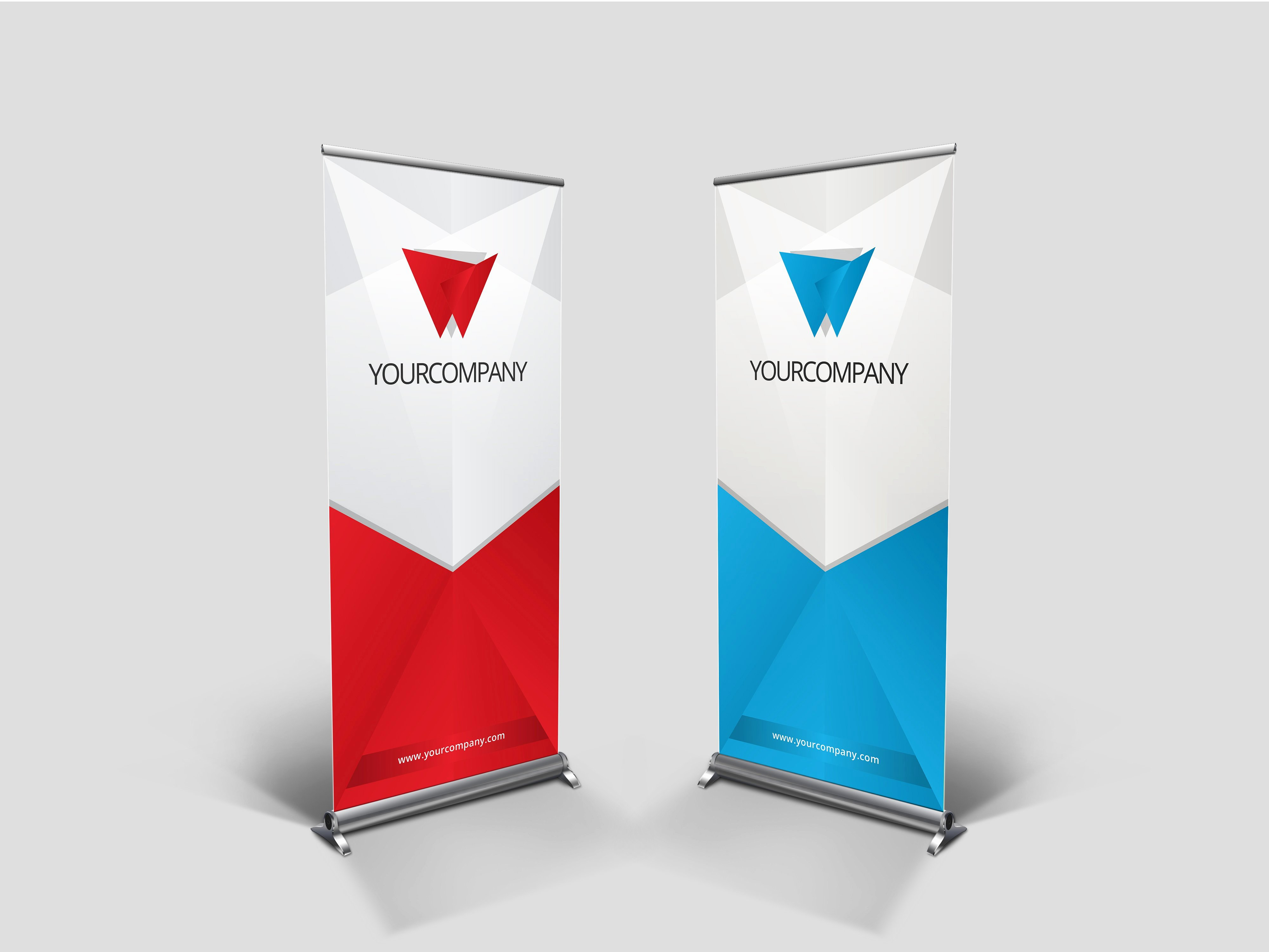 Retractable Banner Template Psd Luxury Business Rollup Banner Nex Presentation Templates