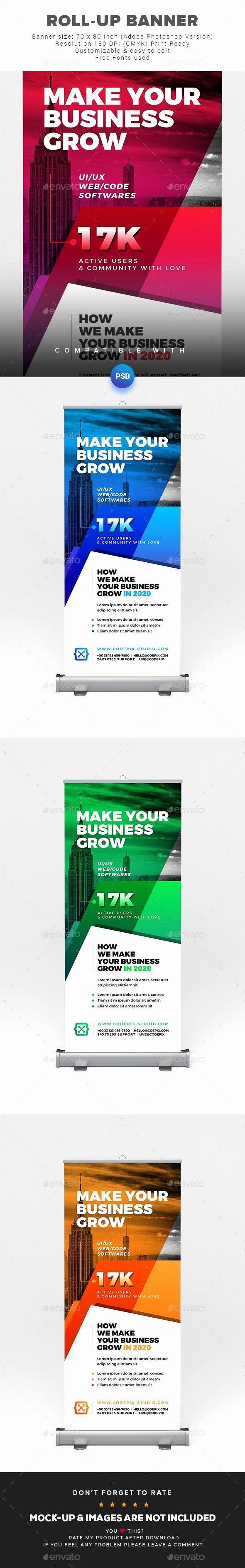 Retractable Banner Template Psd Unique Standing Banner Template Shop Awesome Retractable