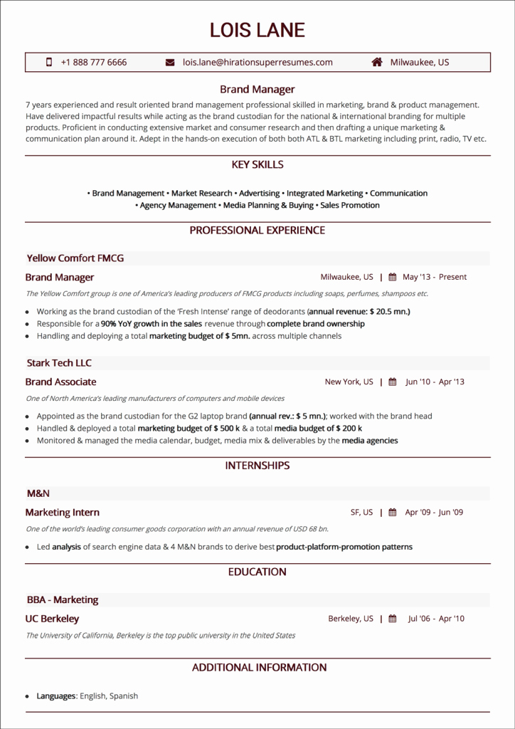 Reverse Chronological Resume Template Elegant Chronological Resume the 2018 Guide to Reverse