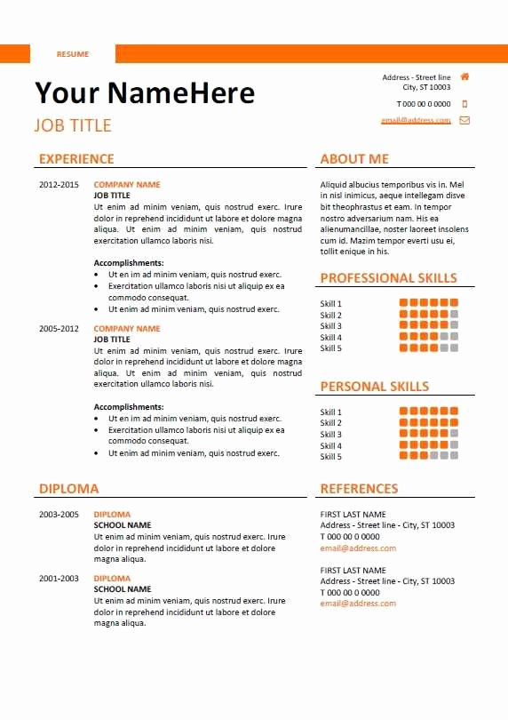 Reverse Chronological Resume Template Lovely 21 Fresh Reverse Chronological Resume Template Scheme