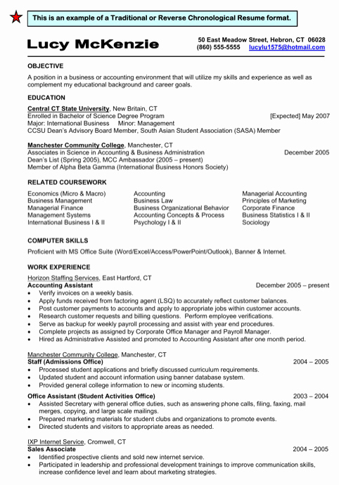 Reverse Chronological Resume Template Unique Download Traditional Resume Templates for Free formtemplate