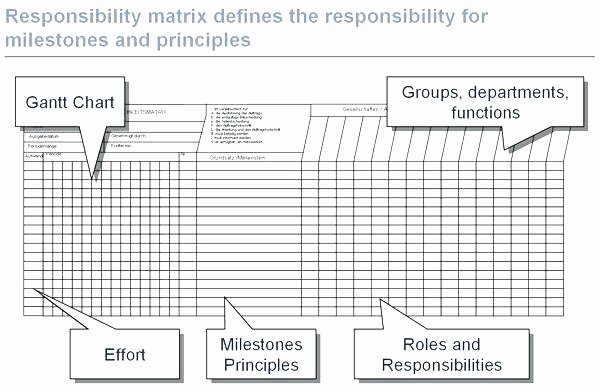 Roles and Responsibilities Template Excel Awesome Responsibility Matrix Template Excel Free Template Excel