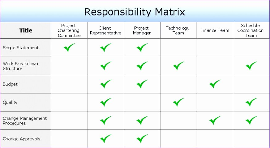 Roles and Responsibilities Template Excel Lovely 10 Roles and Responsibilities Matrix Template Excel