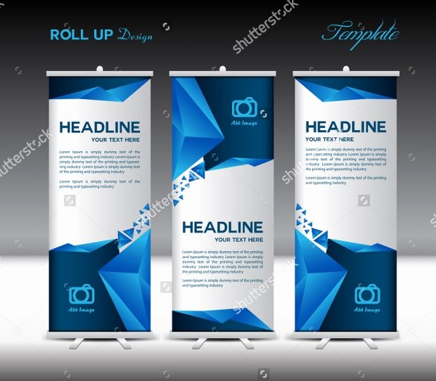 Roll Up Banner Template Awesome 21 Roll Up Banners Free Psd Ai Vector Eps format