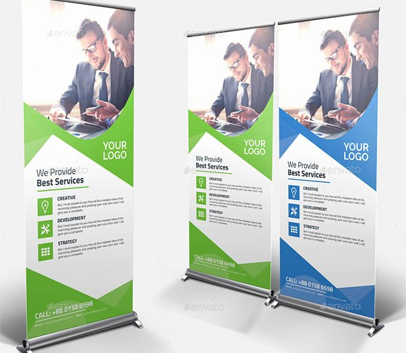 Roll Up Banner Template Awesome 25 Professional Roll Up Banners & Signage Templates