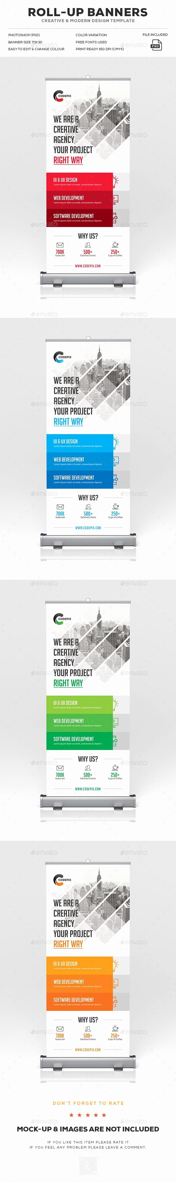 Roll Up Banner Template Lovely Roll Up Banner