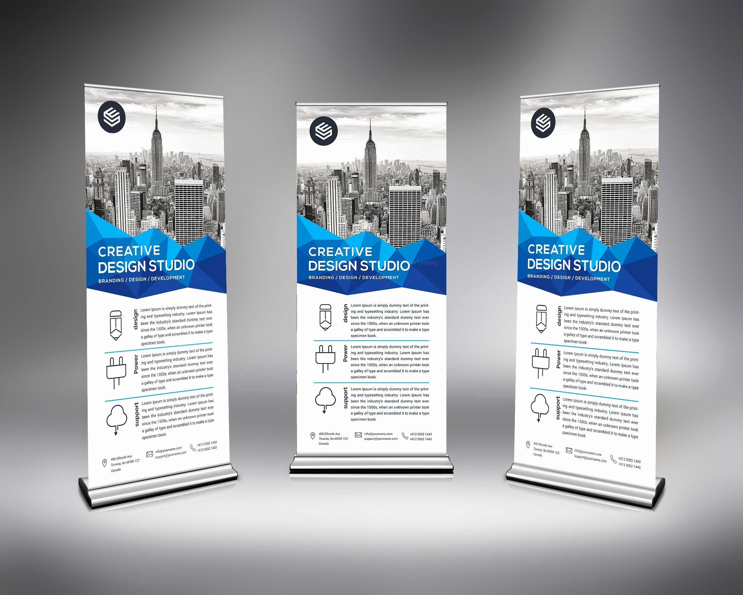 Roll Up Banner Template New Corporate Store Roll Up Banner Template Template