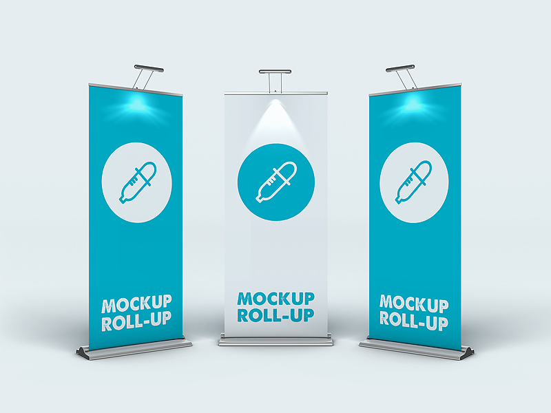 Roll Up Banners Template Awesome Roll Up Banner Mockup by Piotr Szmiłyk Dribbble