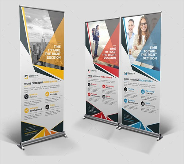 Roll Up Banners Template Best Of Roll Up Banner Templates 14 Free Psd Vector Ai Eps