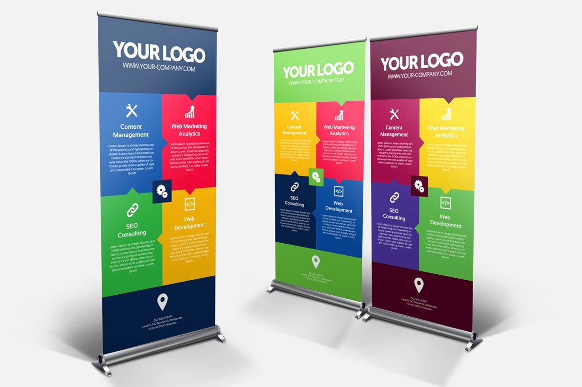 Roll Up Banners Template New Business Roll Up Banner Nex 005 Other Presentation