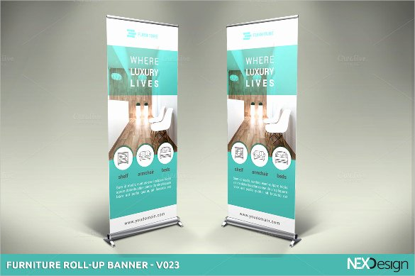 Roll Up Banners Template Unique 19 Rollup Banner Design Templates Psd Ai Vector Eps