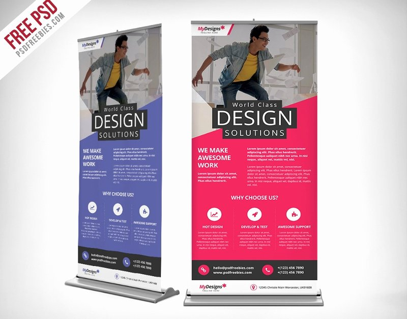 Roll Up Banners Template Unique 37 Roll Up Banner Designs for Your Advertising Needs