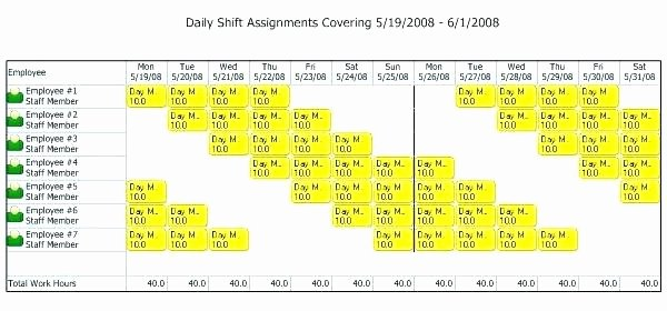 Rotating Shift Schedule Template Unique Hour Shift Template Lovely Employee Schedule Beautiful