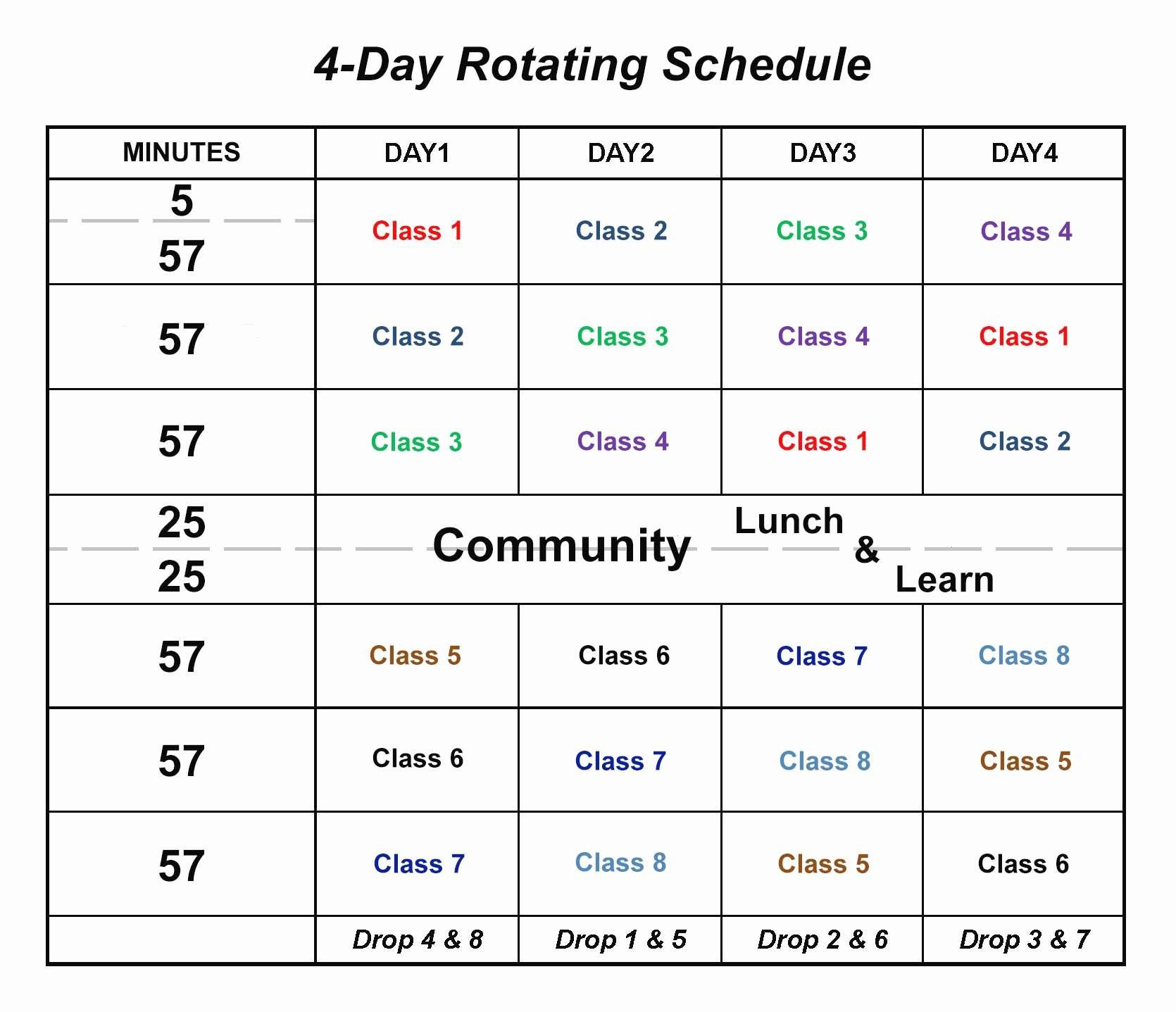 Rotating Shift Schedule Template Unique Monthly Rotating Shift Schedule Template Beautiful
