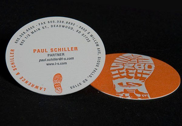 Round Business Card Template Beautiful 30 Creative Round Business Cards