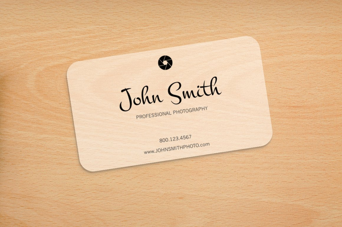 Round Business Card Template Beautiful Graphy Rounded Corners Card Business Card Templates