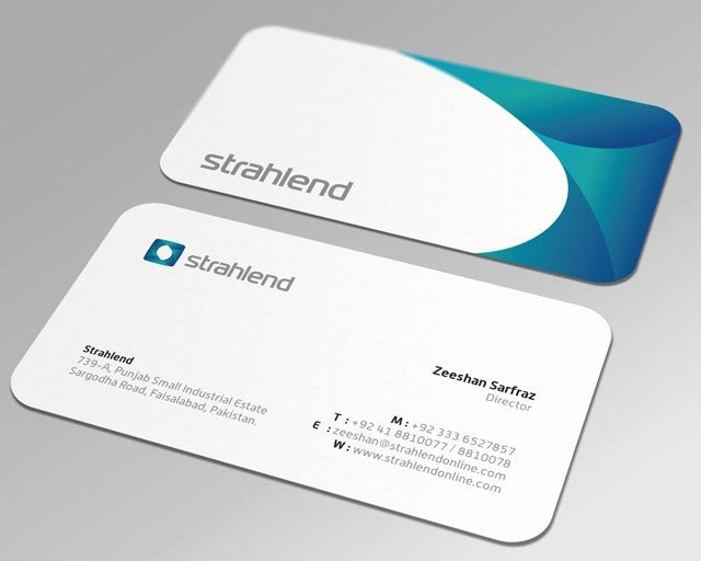 Round Business Card Template Elegant Aliexpress Buy Round Corner Business Cards 350gsm