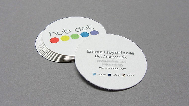 Round Business Card Template Fresh Round Business Cards the Hub London Round Business Card