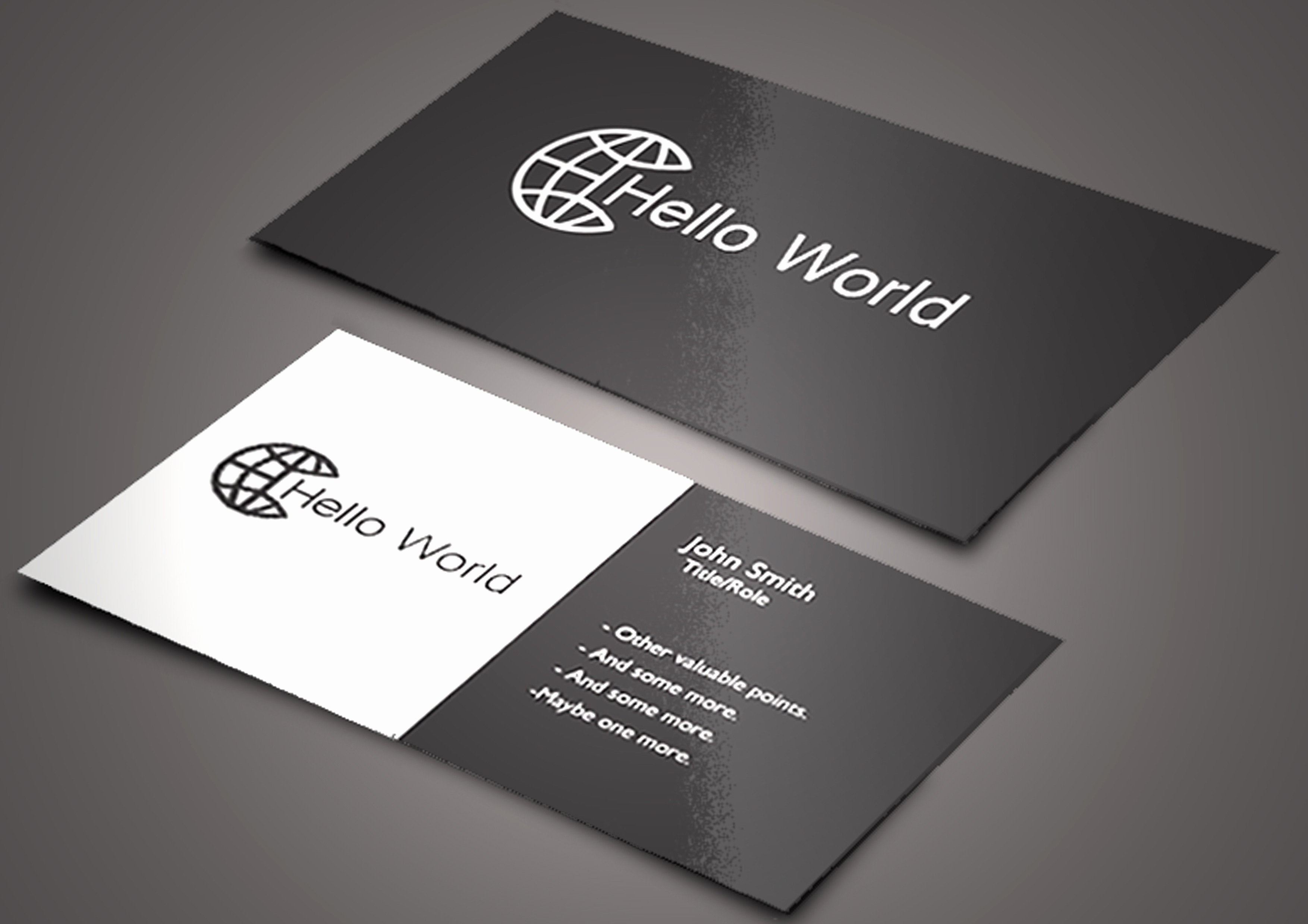 Round Business Card Template Luxury Business Card Rounded Corners Template Beautiful Business