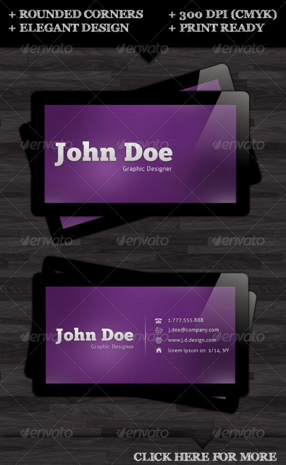 Round Business Card Template Unique Cardview – Business Card & Visit Card Design