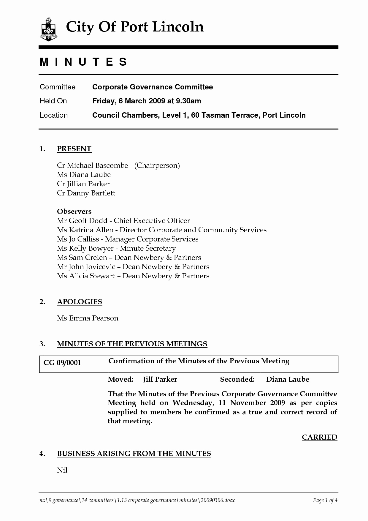 S Corp Meeting Minutes Template Unique Corporate Minutes Template
