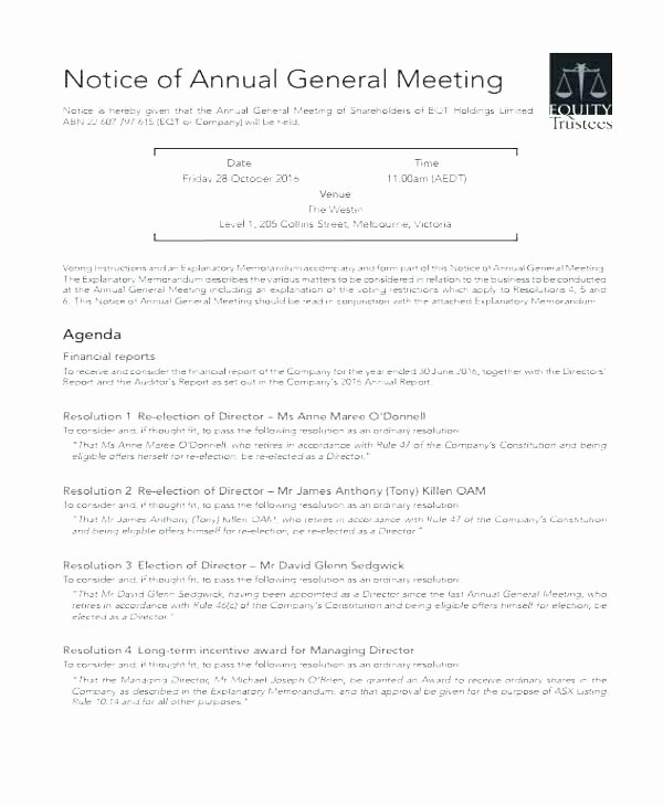 S Corp Meeting Minutes Template Unique S Corporation Meeting Minutes Sample Best Free Templates
