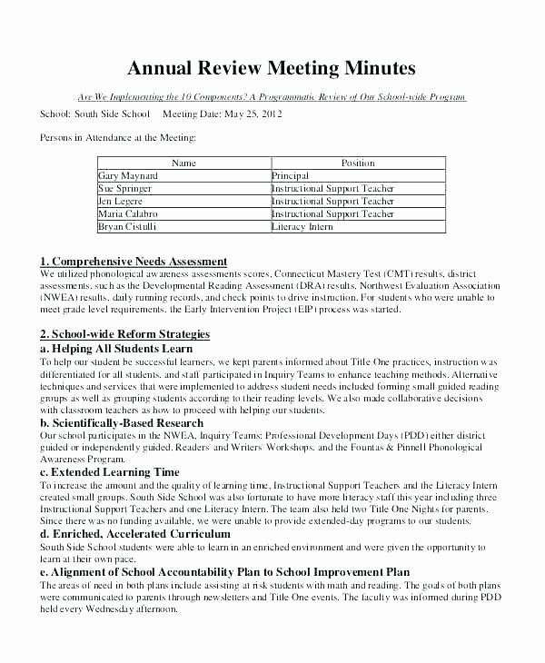 S Corp Minutes Template Beautiful Meeting Summary Template Email Meeting Minutes Email
