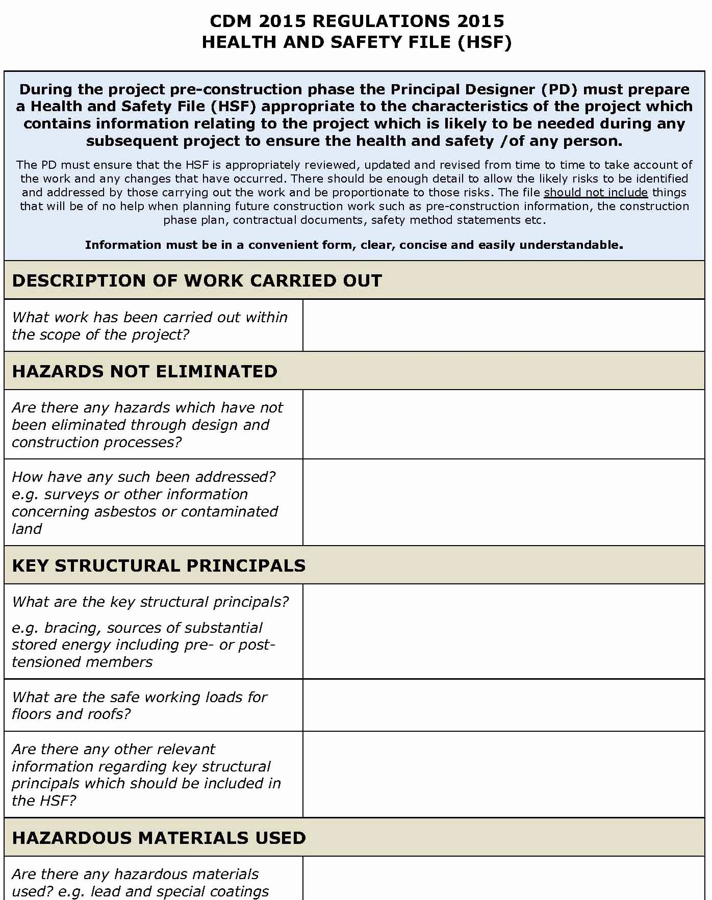 Safety and Health Program Template Awesome Safety Plan Template
