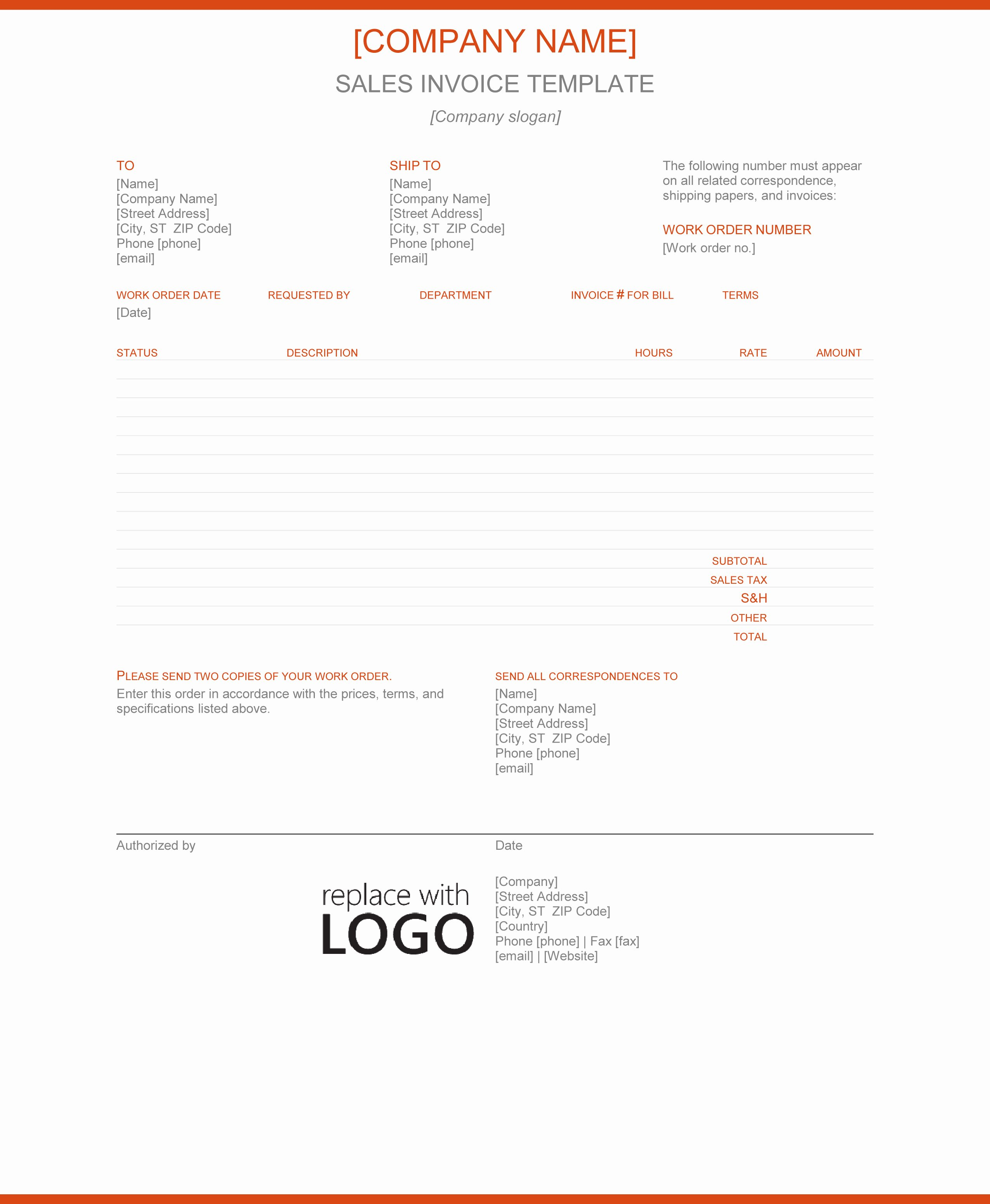 Sale Invoice Template Word Awesome Invoice Templates Archives Word Ms Templates