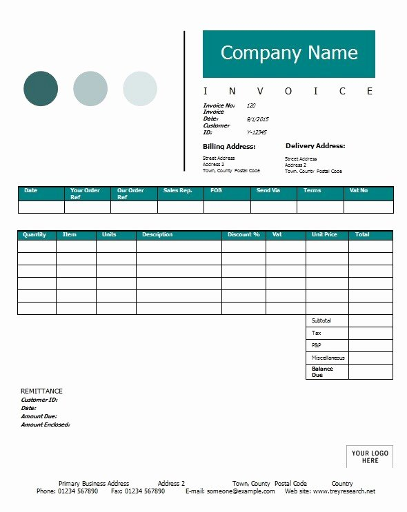 Sale Invoice Template Word Awesome Sales Invoice Template Printable Word Excel Invoice