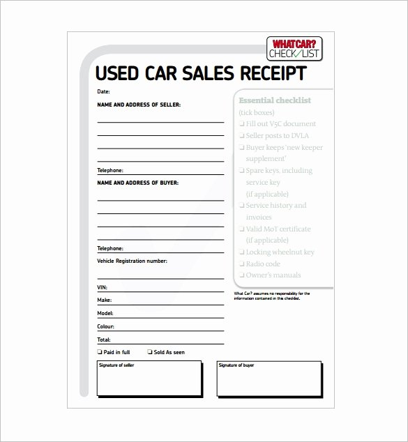 Sale Invoice Template Word Luxury Car Sales Invoice Template Free
