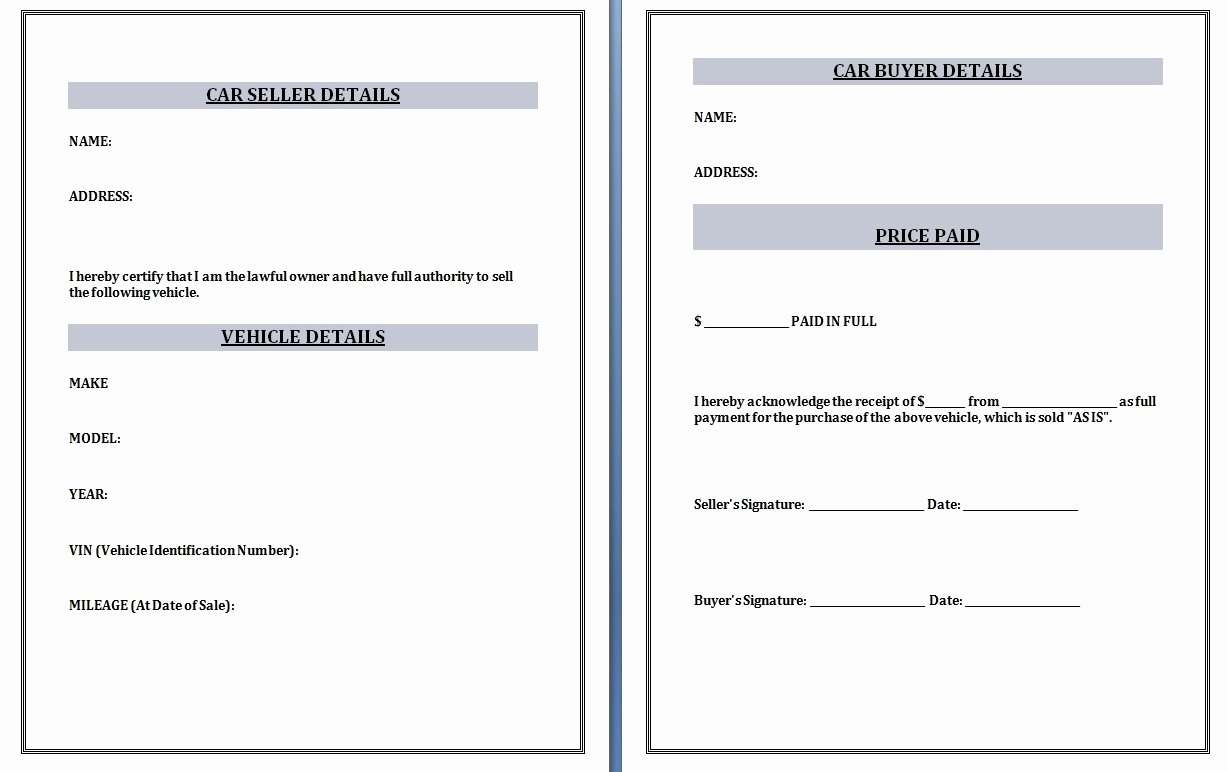 Sale Invoice Template Word Unique Car Sales Invoice Template Invoice Template Ideas