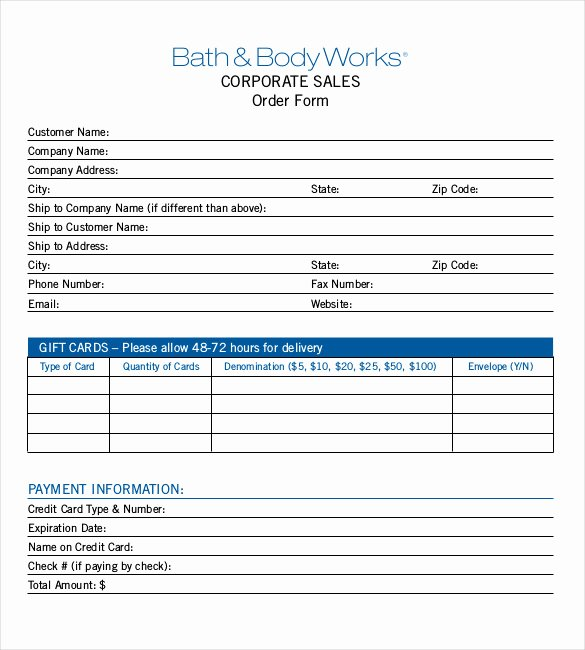 Sale order form Template Best Of 26 Sales order Templates – Free Sample Example format