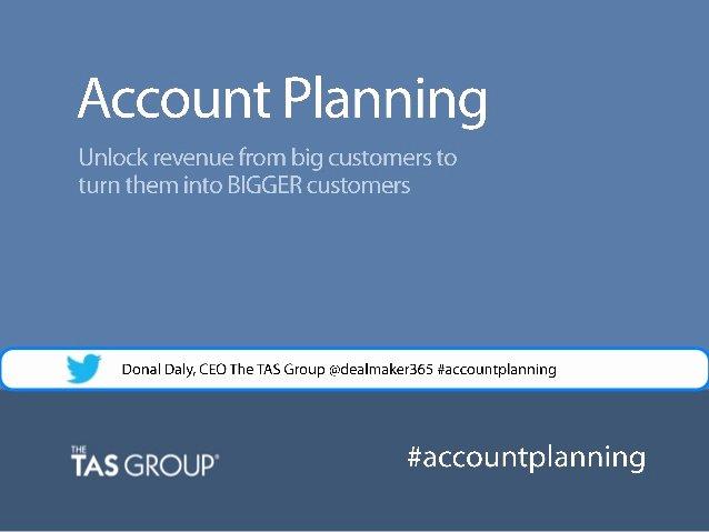 Sales Account Plan Template Unique Sales Webinar