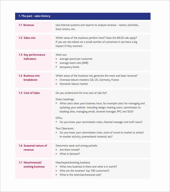 Sales Action Plan Template Elegant Strategic Action Plan Template 14 Free Pdf Word format