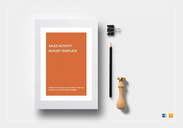 Sales Activity Report Template Awesome Sales Call Report Template 11 Free Word Pdf format