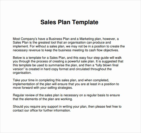 Sales and Marketing Plan Template Best Of How to Write A Business Plan Sales Plans Marketing