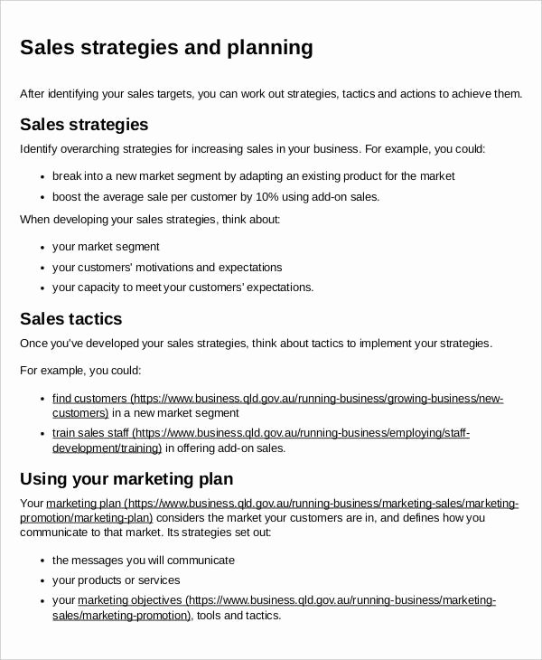 Sales and Marketing Plan Template Elegant 31 Action Plan Free Word Pdf Documents Download