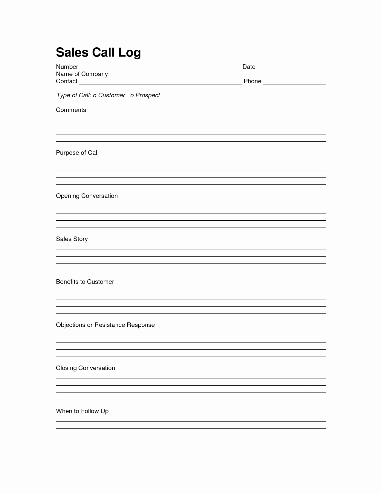 Sales Call Log Template Fresh Sales Log Sheet Template Sales Call Log Template