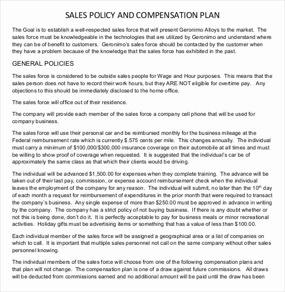 Sales Call Plan Template Awesome Sales Plan Template 23 Free Sample Example format