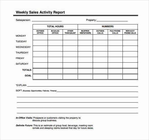 Sales Call Plan Template Best Of 14 Sales Call Report Samples