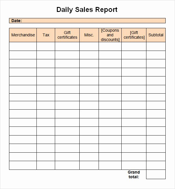 Sales Call Plan Template Luxury Sales Report Template 9 Free Pdf Doc Download