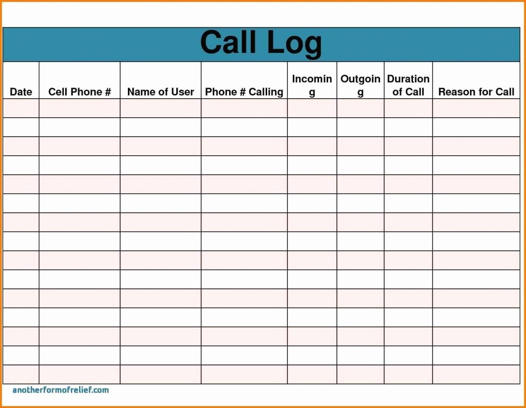 Sales Call Tracking Template Fresh Sales Call Report Template Also Daily Sales Report
