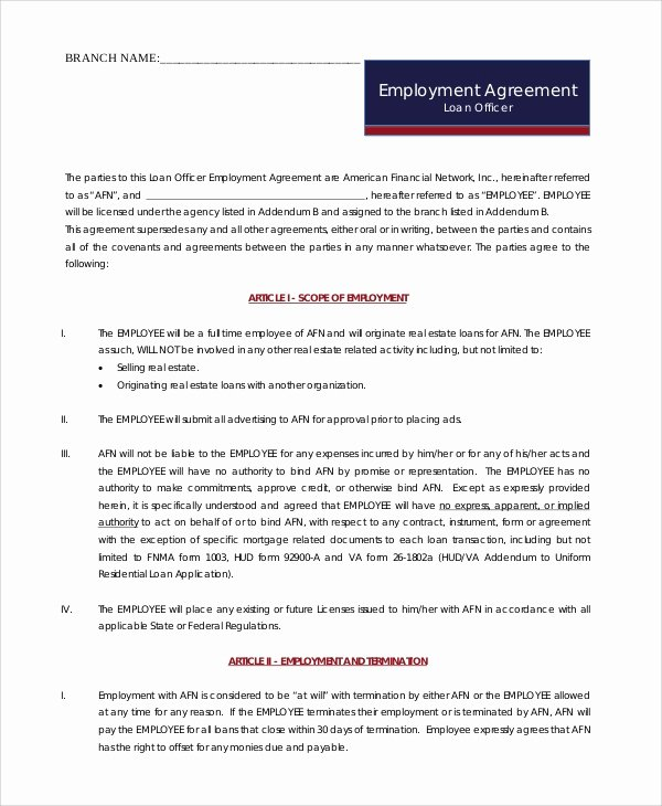 Sales Commission Contract Template Lovely 6 Sample Sales Employment Agreements